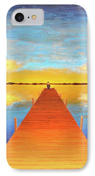 The Pier IPhone Case by Thomas Blood
