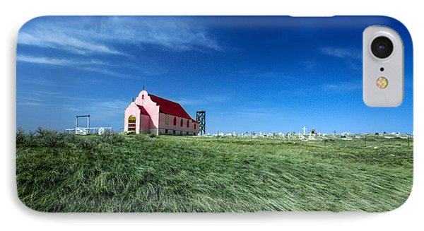 The Pink Church IPhone 7 Case by Todd Klassy