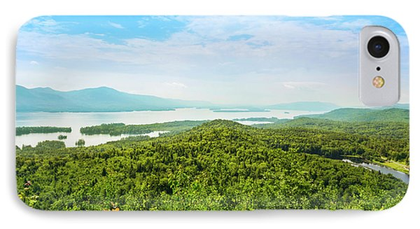 The Pinnacle View Of Lake George IPhone Case