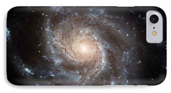 The Pinwheel Galaxy  IPhone Case by Hubble Space Telescope