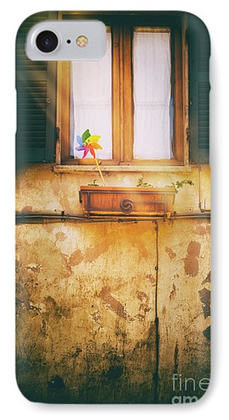 IPhone Case featuring the photograph The Pinwheel by Silvia Ganora
