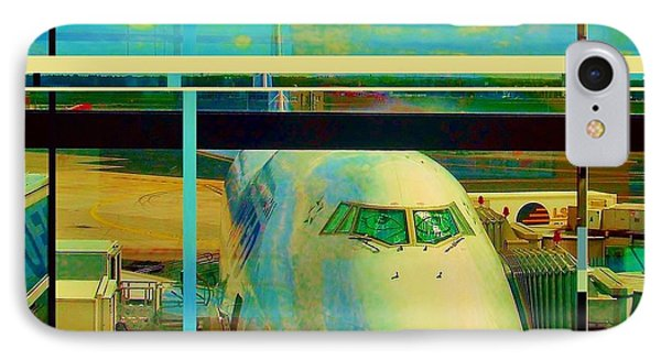 The Plane 2 IPhone Case by Andrew Drozdowicz