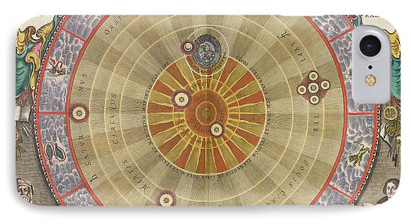The Planisphere Of Copernicus Harmonia Phone Case by Science Source