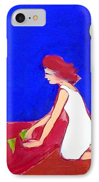 IPhone 7 Case featuring the painting The Planting by Winsome Gunning