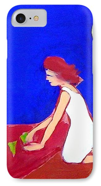 IPhone Case featuring the painting The Planting by Winsome Gunning