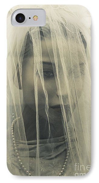 The Plastic Bride IPhone Case by Jorgo Photography - Wall Art Gallery