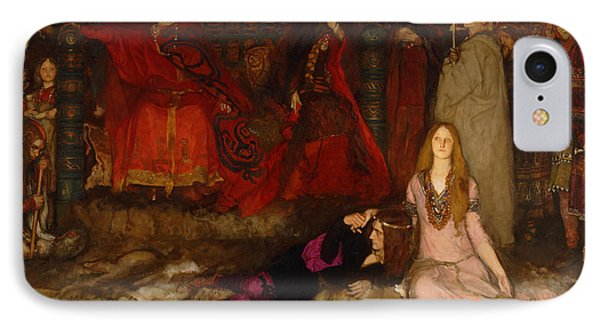 The Play Scene In Hamlet - Act IIi Scene 2 IPhone Case by Mountain Dreams