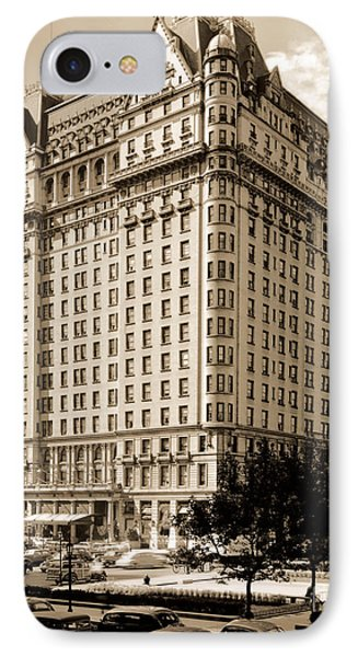 The Plaza Hotel IPhone Case by Henry Janeway Hardenbergh