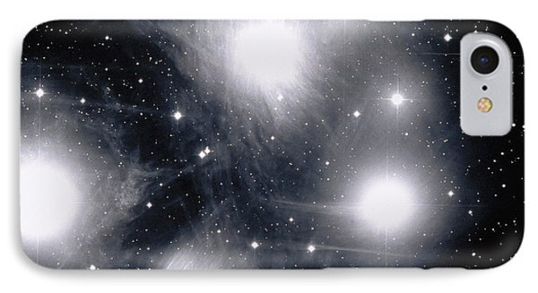 The Pleiades Star Cluster, Also Known Phone Case by Stocktrek Images