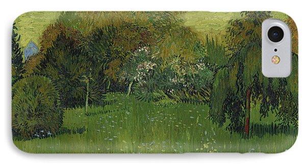 The Poet's Garden IPhone Case by Vincent Van Gogh