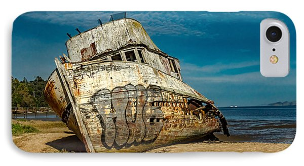The Point Reyes Beached IPhone Case