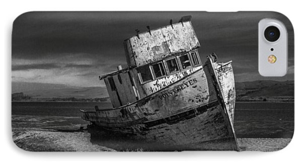 The Point Reyes In Black And White IPhone Case