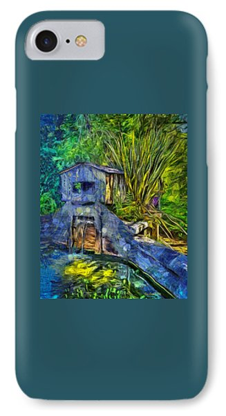 IPhone Case featuring the photograph Blakes Pond House by Thom Zehrfeld
