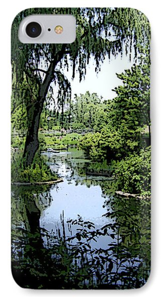 The Pond IPhone Case by Skyler Tipton