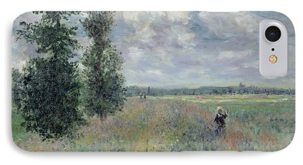 The Poppy Field IPhone Case by Claude Monet