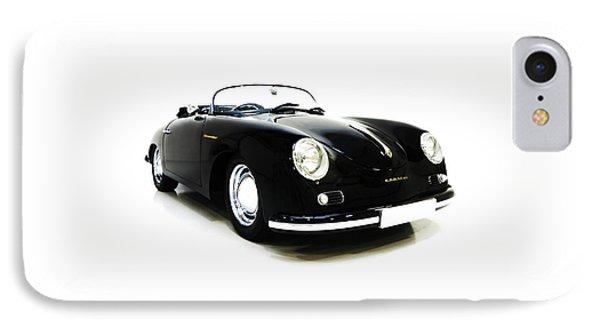 The Porsche 356 Speedster IPhone Case by Mark Rogan