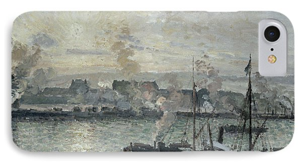 The Port Of Rouen Phone Case by Camille Pissarro
