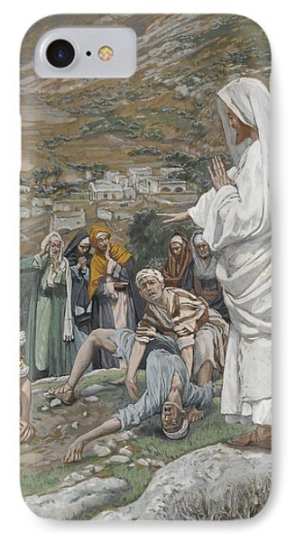 The Possessed Boy At The Foot Of Mount Tabor IPhone Case by Tissot