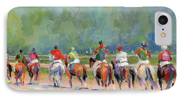 The Post Parade IPhone Case by Kimberly Santini