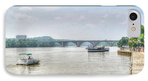 IPhone Case featuring the photograph The Potomac by Adrian LaRoque