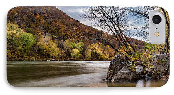 The Potomac In Autumn IPhone Case