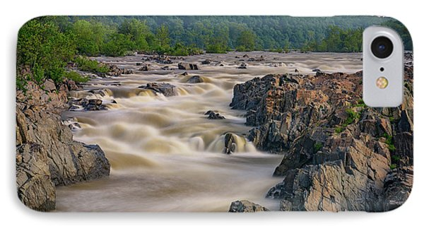 The Potomac River At Great Falls IPhone Case by Rick Berk