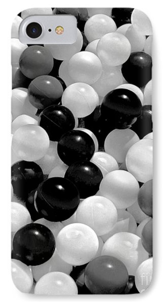 The Power Of Black And White IPhone Case by Carol F Austin