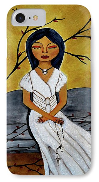 The Power Of The Rosary Religious Art By Saribelle IPhone Case