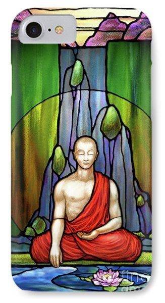 The Praying Monk IPhone Case