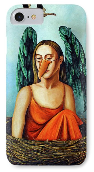 The Pretender Phone Case by Leah Saulnier The Painting Maniac