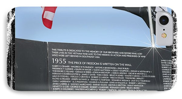 The Price Of Freedom IPhone Case by Gary Baird