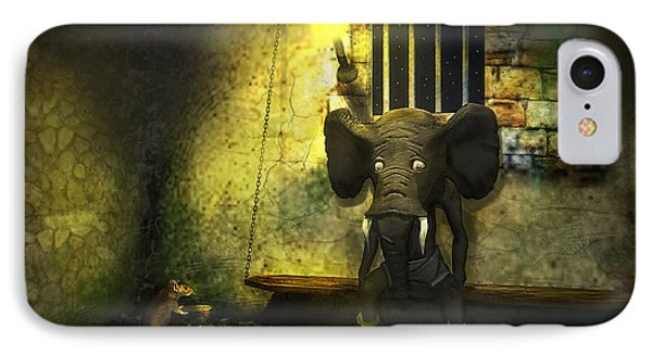 The Prisoner IPhone Case by Ken Morris