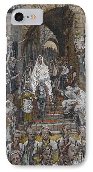 The Procession In The Streets Of Jerusalem IPhone Case
