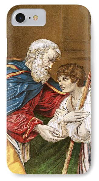 The Prodigal Son IPhone Case by English School