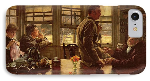 The Prodigal Son In Modern Life  The Departure IPhone Case by James Jacques Joseph Tissot