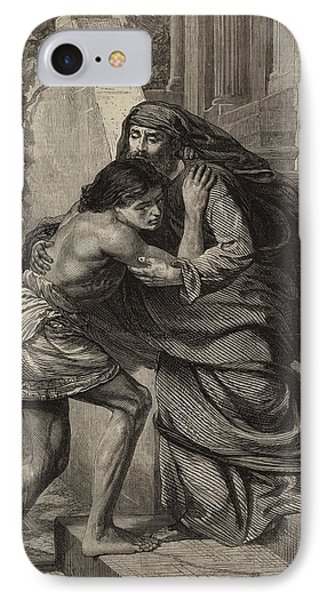 The Prodigal's Return IPhone Case by Sir Edward John Poynter