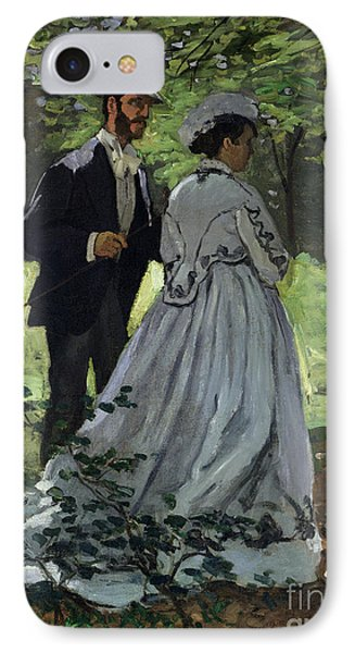 The Promenaders Phone Case by Claude Monet