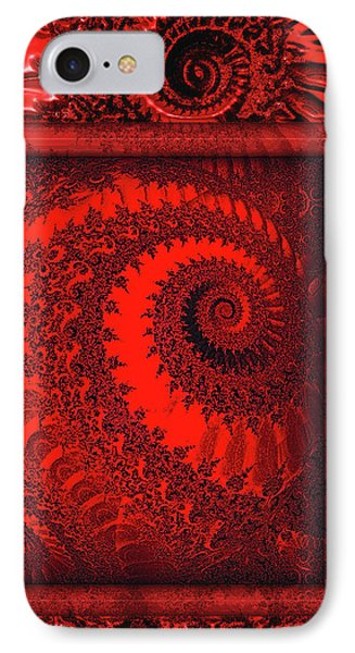 The Proper Victorian In Red  Phone Case by Wendy J St Christopher