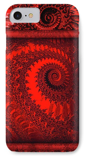 The Proper Victorian In Red  IPhone Case