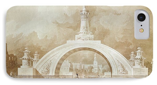 The Proposed Triumphal Arch From Portland Place To Regent's Park IPhone Case