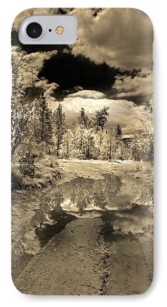 The Puddle IPhone Case by Tara Turner