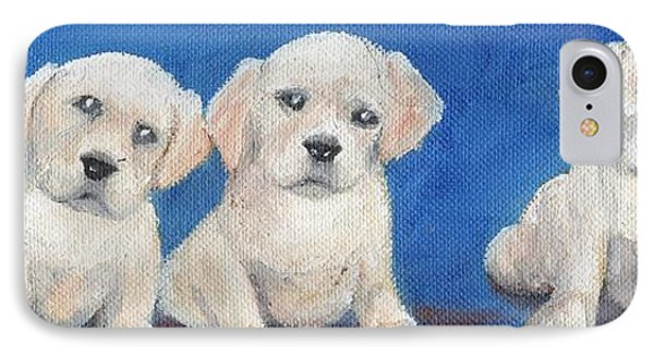 The Pups 1 Phone Case by Roger Wedegis