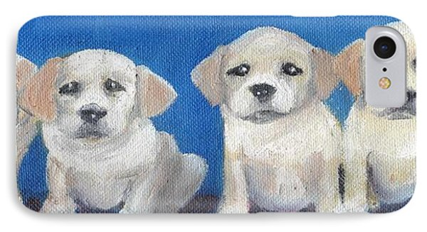 The Pups 2 Phone Case by Roger Wedegis