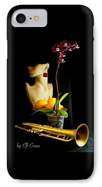 The Purple Orchid IPhone Case