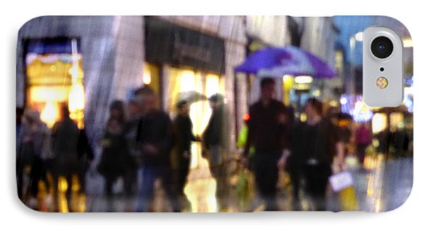 IPhone Case featuring the photograph The Purple Umbrella by LemonArt Photography