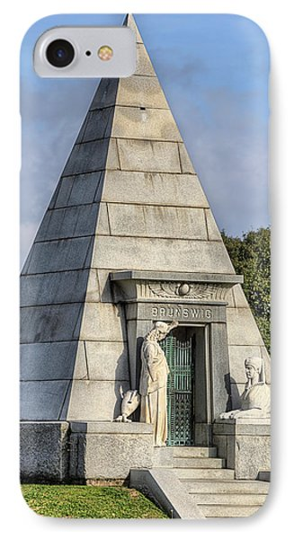 IPhone 7 Case featuring the photograph The Pyramid In Metairie Cemetery by JC Findley