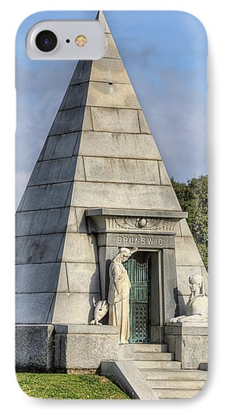 IPhone Case featuring the photograph The Pyramid In Metairie Cemetery by JC Findley