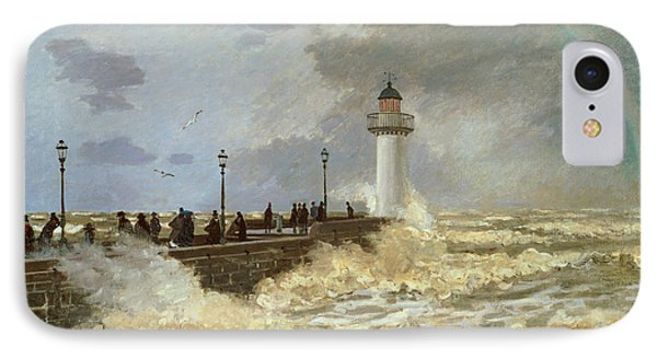 The Quay At Le Havre IPhone Case by Claude Monet