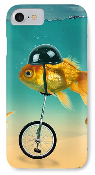 The Race  IPhone Case by Mark Ashkenazi