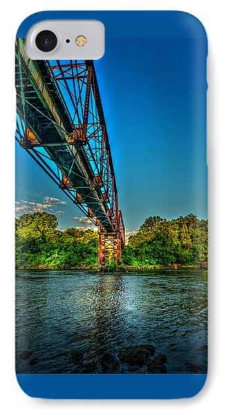 The Rail Bridge IPhone Case by Marvin Spates